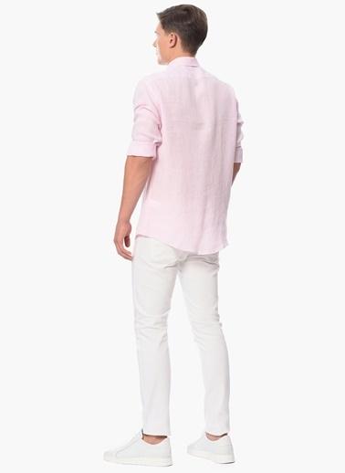 George Hogg Uzun Kollu Gömlek Pembe